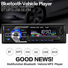 1 Din Bluetooth Auto Car Player USB SD/AUX-IN/FM Phone Radio Stereo MP3 +Remote