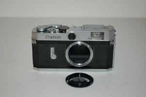 Canon-P Vintage 1958 Japanese Rangefinder Camera. Service. No.709699. UK Sale
