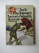 JACK HARDAWAY'S SECRET OF WEALTH Bracebridge Hemyng Novel No.26 A501