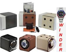 BOXY LEATHER-LOOK Fancy Brick Automatic Watch Winder-1-FB-LTHR-F (starter set)