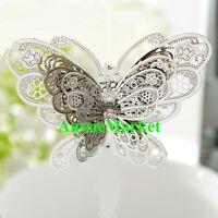 1 x 3d butterfly angel suncatcher mobile fairy garden jewellery owl heart moon