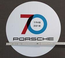PORSCHE 70 Jahre Years Anniversary 35cm EXTREM Sticker Aufkleber Durchmesser dia