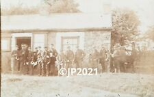 More details for payday at saundersfoot colliery. antique photographic postcard