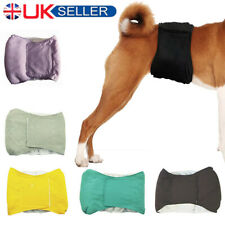 More details for male dog puppy pet nappy diaper cotton belly wrap band sanitary pants underpants