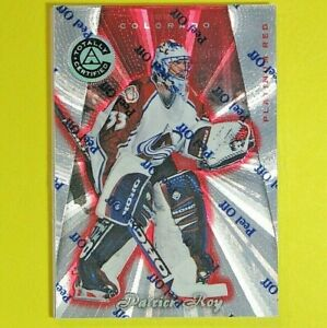PATRICK ROY  1997-98  TOTALLY CERTIFIED PLATINUM RED  2232/4299  #2  Avalanche