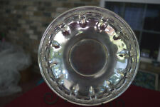 Sterling Footed Serving Tray - Old Master - 12 inches round - 1932