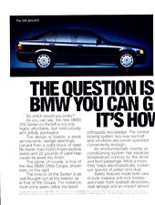 1994 BMW 318i and 318is Original Advertisement Print Art Car Ad J981