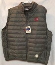 New Saddlebred Down Puffer Vest  Size XX-Large Color Basic Sage