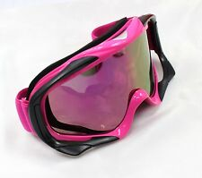 Snowboard Skiing Skating Snow Goggle UV Protection Tinted Lens Glasses RED/Black
