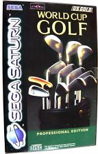 World Cup Golf Professional Edition Complete SEGA Saturn VGC
