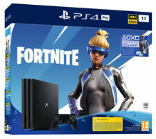 Sony PlayStation 4 Pro 1ТB (Fortnite VCH Bundle) Console - Nera