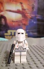 Lego Star Wars Snowtrooper Minifigure w Blaster #4483 2002 Empire Strikes Back