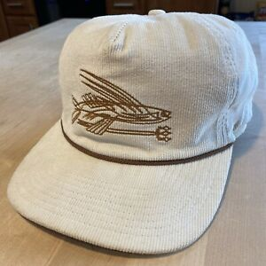 Patagonia Pinstripe Flying Fish Corduroy Hat - Excellent - Natural - Fall 2015