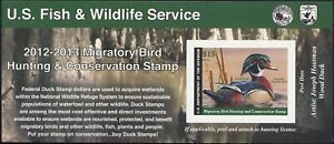 RW79A 2012 Migratory Oiseau Autocollantes Dollar Bill Taille Duck Stamp Nh Choix