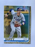 2019 Topps Series 1 Matt Duffy Tampa Bay Rays Gold Parallel Card /2019