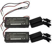 2 x Replacement / Spare CCFL Angel Eye Kit Inverter Ballasts - Fits X3 X5