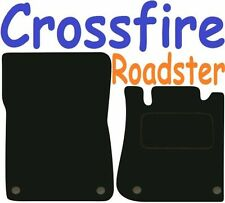 Chrysler Crossfire Roadster DELUXE QUALITY Tailored mats 2004 2005 2006 2007 200
