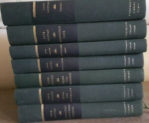 Jane Austen Pride and Prejudice 7 BOOKS COLLECTION Everyman's Library HARDCOVER