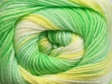 100gr Magic Baby #50003 Greens, Yellow, White Acrylic Yarn 393yds
