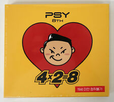 PSY - 4X2=8 (Vol.8) CD+Booklet+Sticker (ft. G-DRAGON TAETANG TABLO) K-POP KPOP