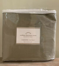 NEW Pottery Barn Oversized Occasional Chair Outdoor Furniture Cover KHAKI