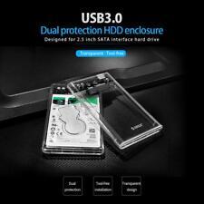 "ORICO 2139U3-CR 2.5"" USB3.0 Transparent 5Gbps SATA HDD Case Hard Drive Enclosure"