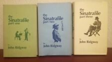 THE SINATRAFILE John Ridgway. Parts 1 2 3 Numbered Limited Signed 1st Edition HB
