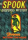 Spook 25 Comic Book Cover Art Giclee Reproduction on Canvas