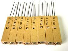 33R, 33Ohm, 7 Watt, 150V, Radial, RM 2,5, 10% Widerstand, KRAH, FH0738, 8 Stück