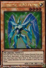 Elemental HERO Prisma PGL2-EN072 Gold Rare X 3 Mint YUGIOH Free S/H