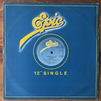 "Fantasy You're Too Late (Epic S EPC 13 9500) 1980 1st UK Press 45rpm 12"" Vinyl"