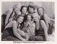 RUBY KEELER Starlets Vintage 1937 READY WILLING ABLE Warner Bros. Portrait Photo