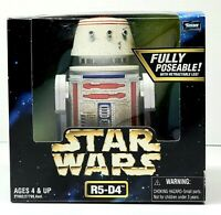 "STAR WARS Collector's Series R5-D4 Fully Poseable 6"" Action Figure 1998 Kenner"