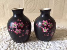 Taylor & Kent Pottery Vase Pair Longton Staffordshire Small Early 20th C