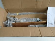 Humanscale M8 Double Monitor Arm Grey/Chrome Not Used