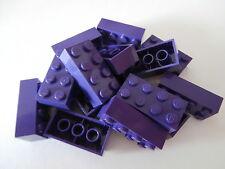 LEGO CLASSIQUE 15 pièces de construction 3001 Violet/PURPLE AVEC LILAS 2x4