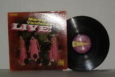 MARTHA REEVES AND THE VANDELLAS Live! LP Vinyl Stereo Live Jimmy Mack Heat Wave