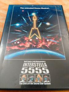 Daft Punk Interstella 5555 Leiji Matsumoto R1 DVD one more time anime dance