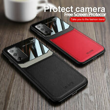 Case For Samsung Galaxy S20 Note 20 S10 S9 Plus Ultra Leather Rubber Slim Cover