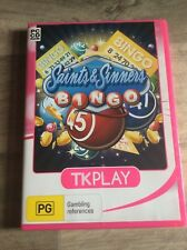 SAINTS & SINNERS BINGO PC GAME TKPLAY 2012 CHEAP AUS