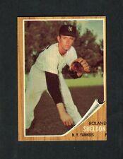 1962 Topps #185 Roland Sheldon EXMT Green Tint (Yankees) (SVSC)