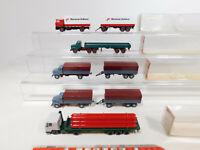CK901-0,5# 5x Wiking H0/1:87 LKW Volvo: 462 + 519 + 787 + Martinair, NEUW+4x OVP
