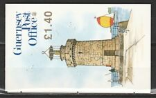 Guernsey Michel MH 29 the Castle Light Booklet