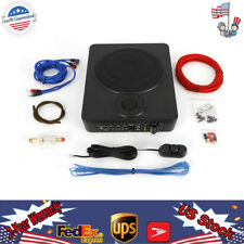 8'' Under-Seat Car Sub Woofer Modified Speaker Stereo Audio Bass Amplifier