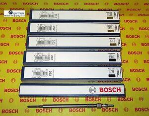 Mercedes-Benz, Sprinter, Jeep 6 Piece Glow Plug Set - BOSCH - 0250403008, 80050