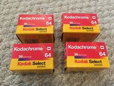 Kodak Select Kodachrome 64 - 36 exp film - Expired - 4 Count
