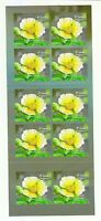 SINGAPORE 2012 POND LIFE 1ST LOCAL STAMP 1ST PRINT (2012A) BOOKLET 10 STAMPS MNH