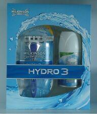 Wilkinson Hydro 3 Geschenkset Rasierer Rasiergel
