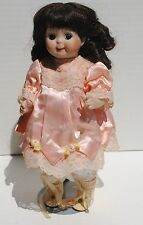 "Antique 10"" Kestner Googly Eyes JDK Germany Doll Girl Reproduction"