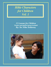 Bible Characters for Children KJV Sunday School Less